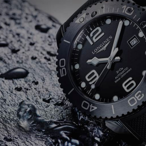 Longines - Campagne Hydroconquest - illustration
